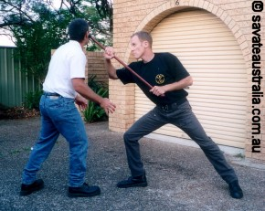 The Stick Fighting Method of Pierre Vignypic3