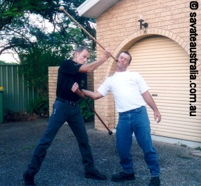 The Stick Fighting Method of Pierre Vignypic4