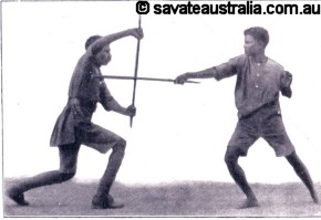 The Stick Fighting Method of Pierre Vignypic6
